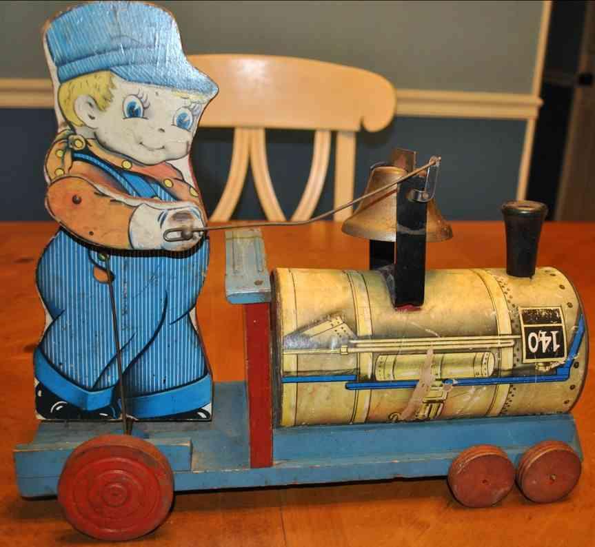 Gong Bell 140 Schaffner auf Lokomotive