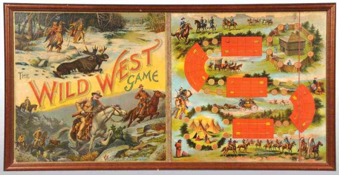 McLoughlin Brothers Spielzeug Wildwestspiel
