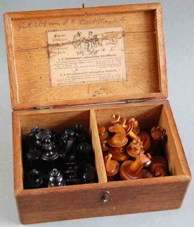 L.S. Schmitthenner Chess set