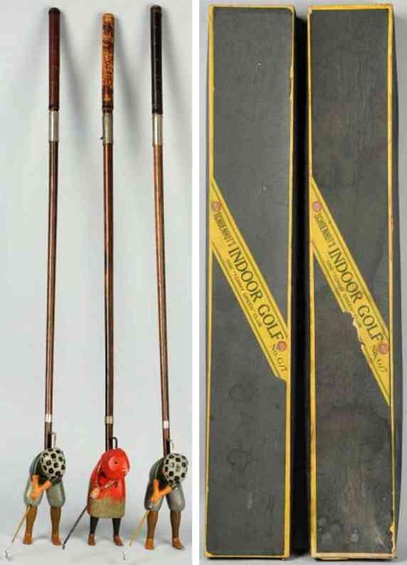 schoenhut holz spielzeug indoor golfspiel