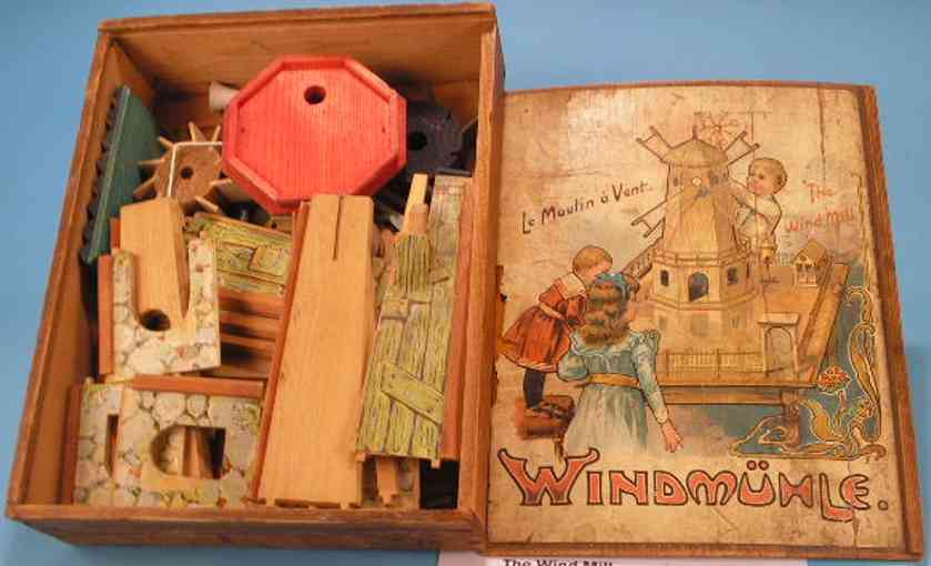 Schoenner Windmill constructuion set
