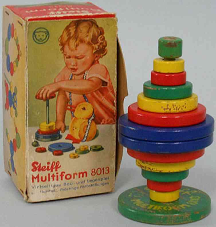 steiff 8013 wooden toy multiform