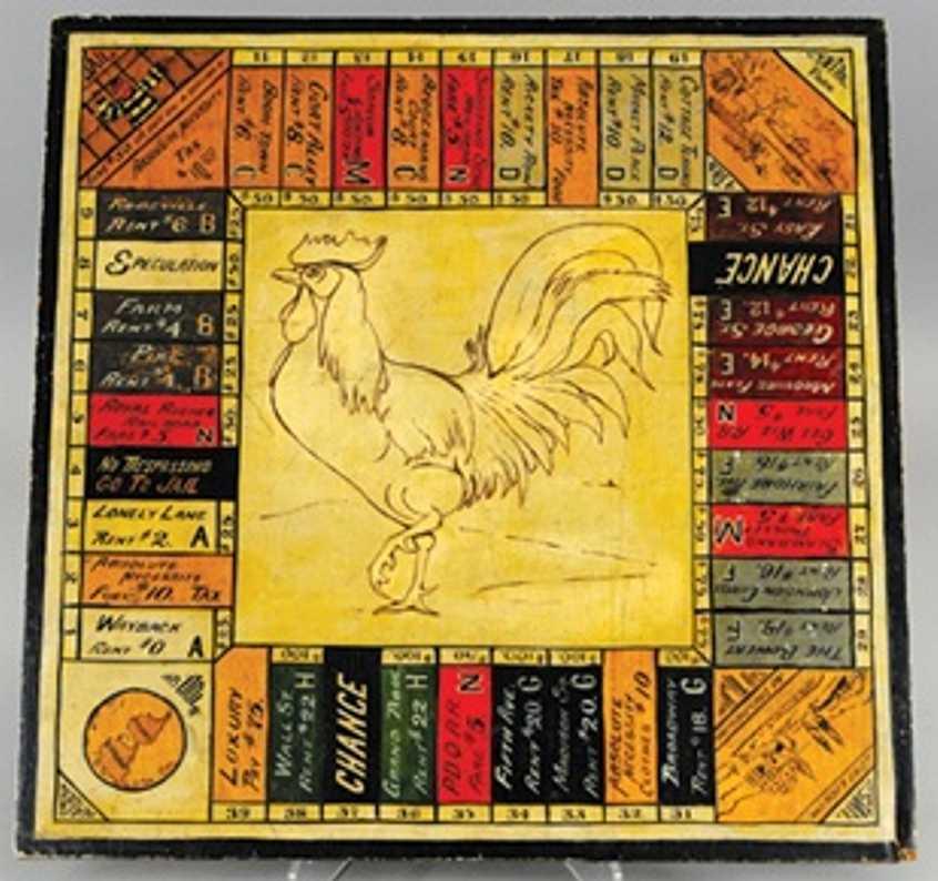 Monopoly Spiel aus Holz