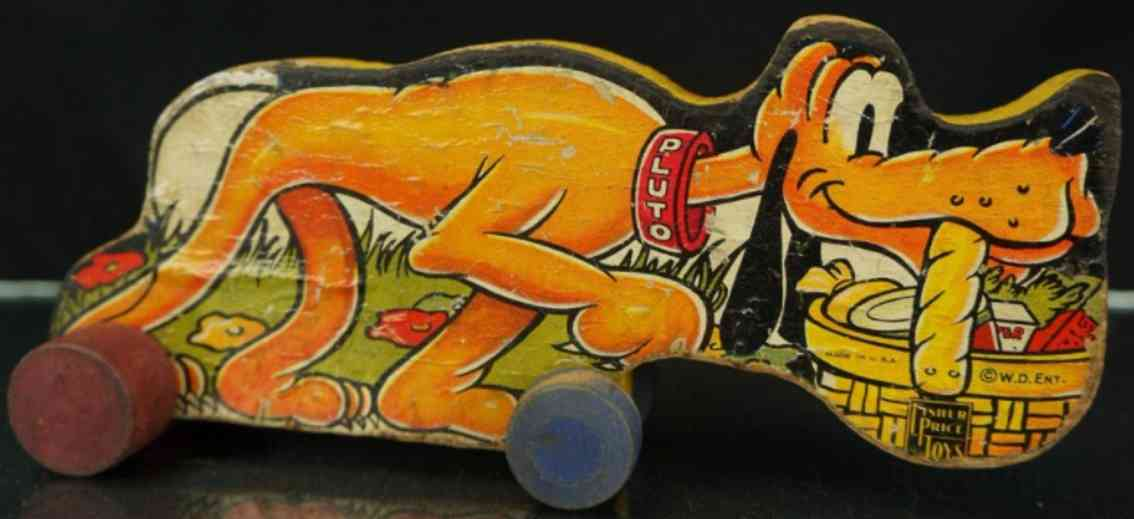fisher-price 210 wooden pluto dog
