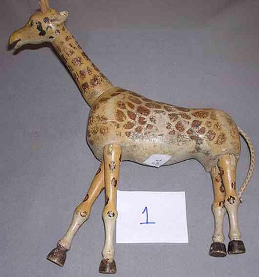 Schoenhut Giraffe