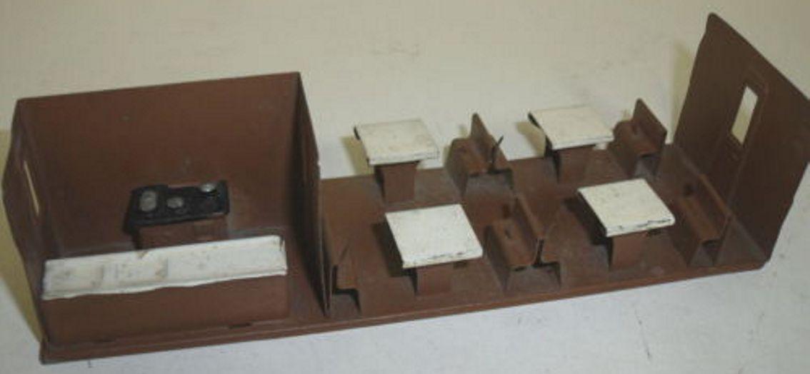 maerklin 1752/0 inneneinrichtung inneneinrichtung für speisewagen