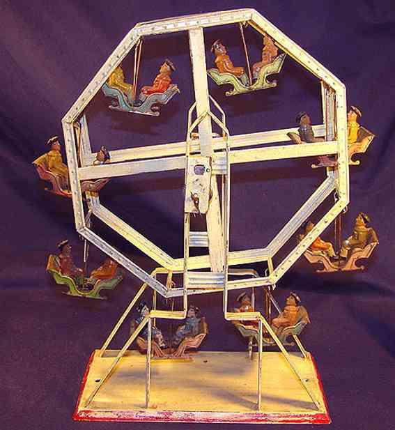 Bing 10/299 Karussell Riesenrad mit acht Gondeln