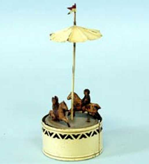 Guenthermann Carousel with tow horses