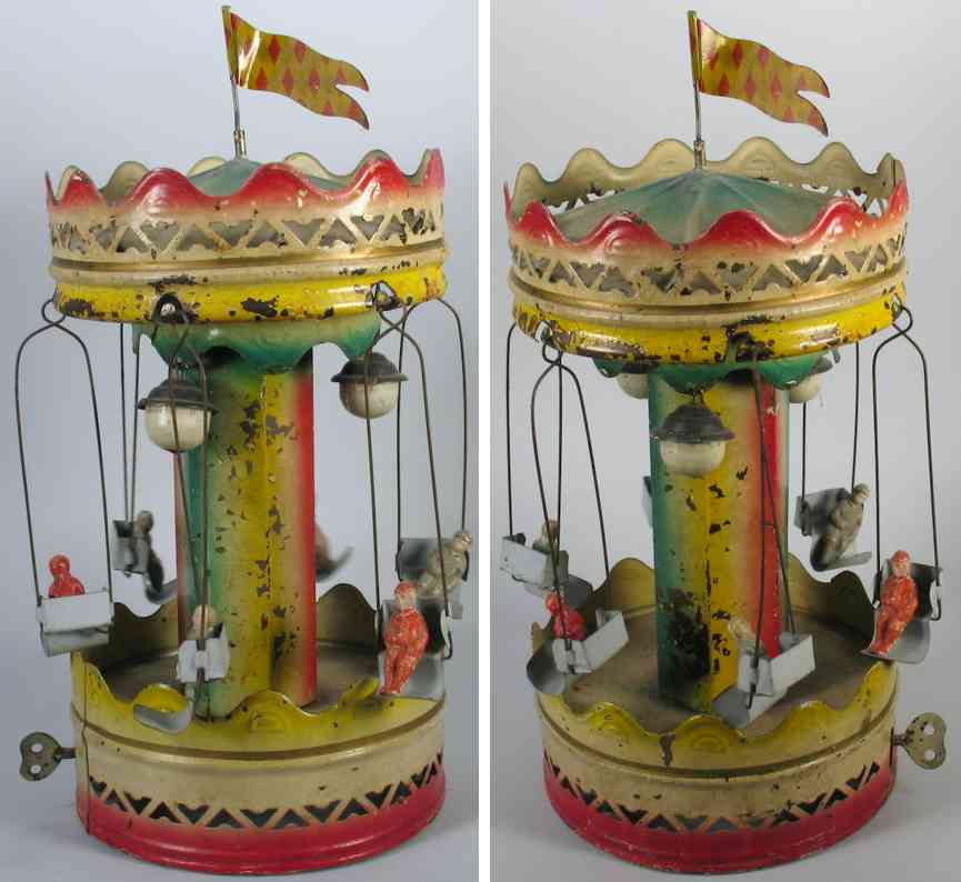 Guenthermann Gunthermann Carousel with 6 riders