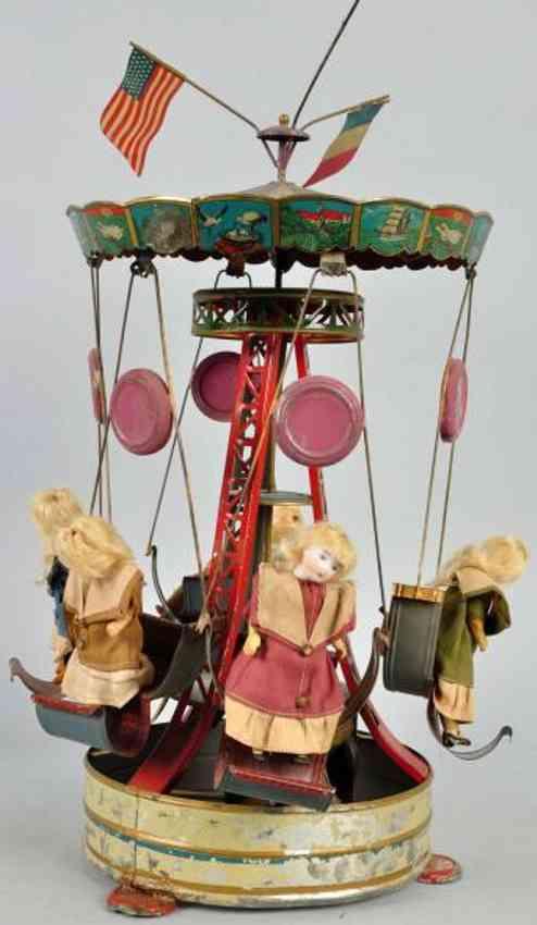 Müller & Kadeder Karussell mit sechs Puppen