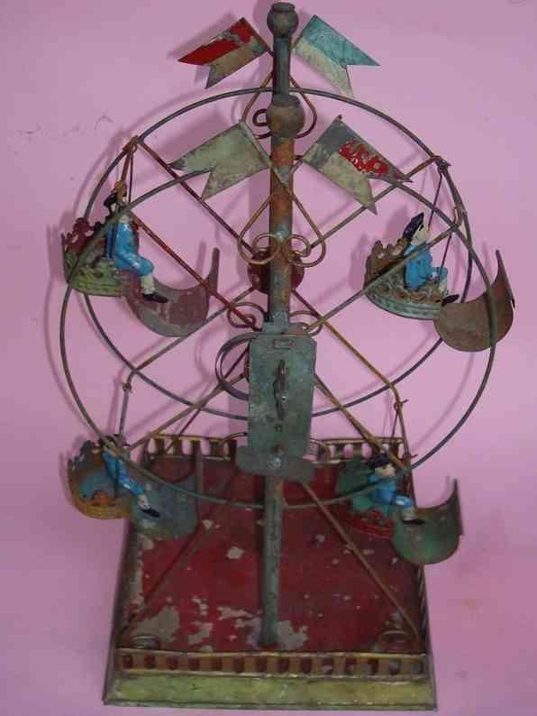 Plank Ernst Carousel Ferris wheel Russian swing
