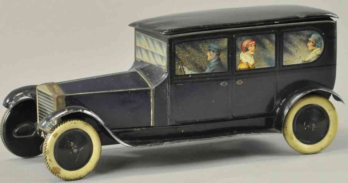 crawford william & sons keksdosen limousine als keksdose blau rolls royce