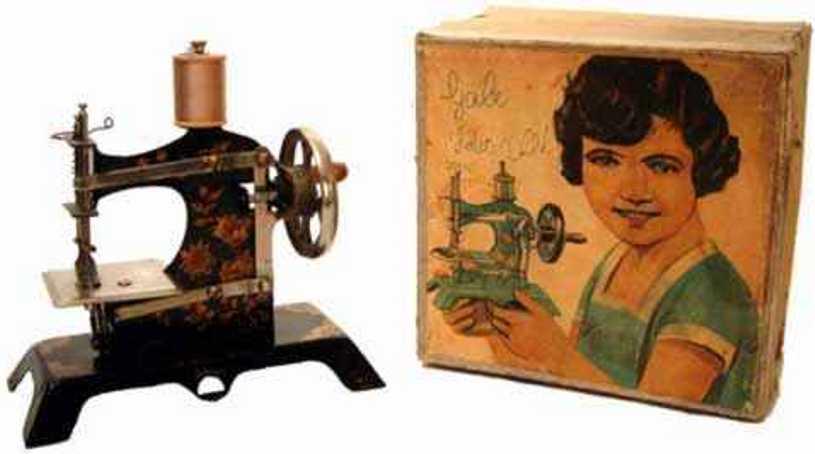 bnf bayerische nahmaschinen fabrik 6 kindernaehmaschine nähmaschine