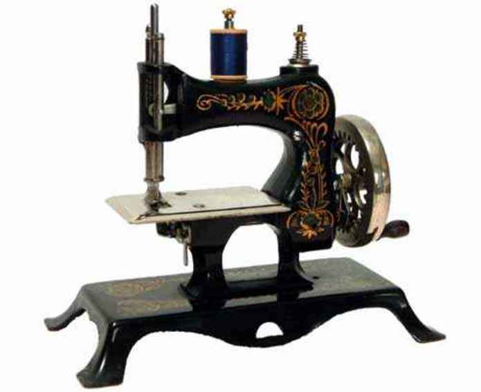 casige 13 kindernaehmaschine nähmaschine mit gusseisernem oberteil, die dritte ausführung