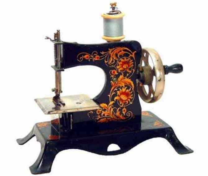casige 25 kindernaehmaschine nähmaschine mit blumendekor