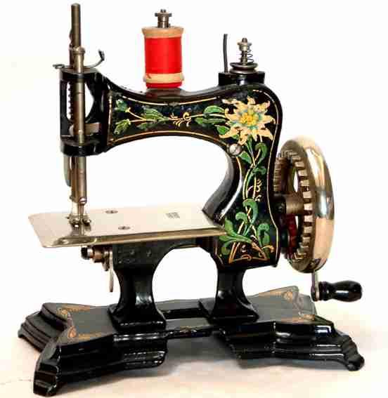 casige 3 kindernaehmaschine nähmaschine mit innenliegender verzahnung am handrad und der