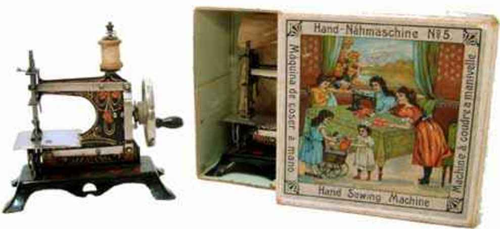 Casige 5 Kindernähmaschinen mit Export-Karton