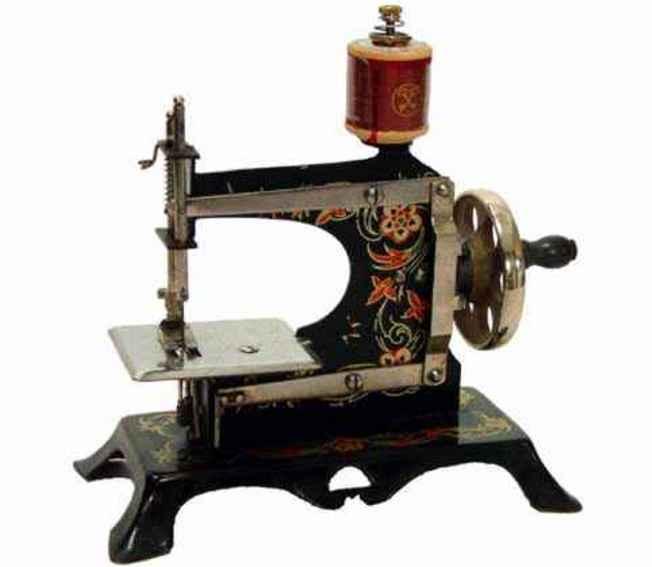 casige 5 kindernaehmaschine mit blumen-dekor