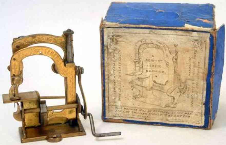 judson daniel & sons kindernaehmaschine tabitha messing