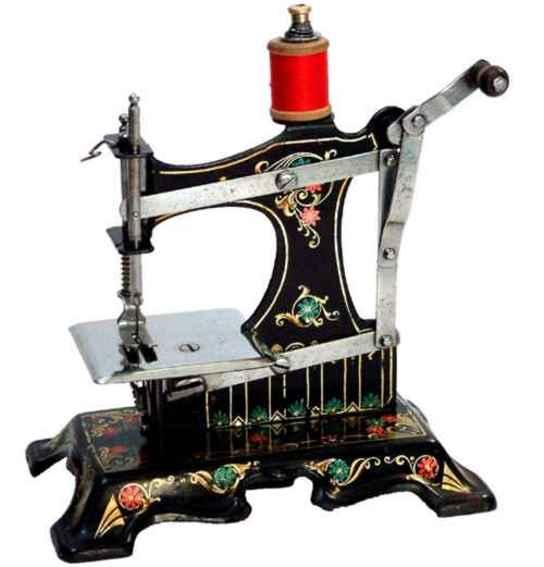 mueller fw 3 kindernaehmaschine nähmaschine, es ist eine müller nr.1 mit dem sockel der nr.5