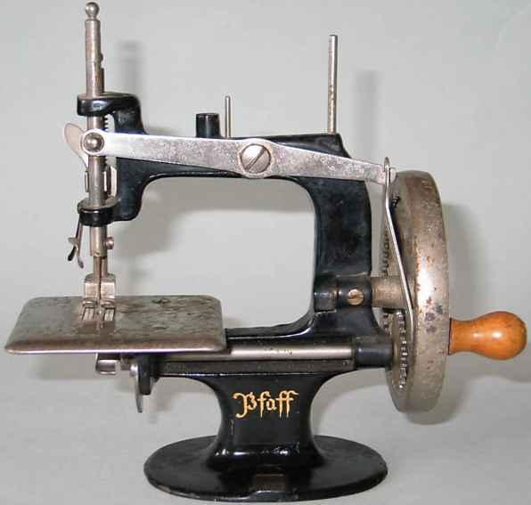 Pfaff 10 Kindernähmaschinen Kindernähmaschine Nummer 6788