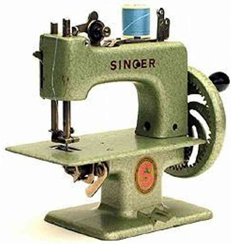 singer 20 10 toy sewing machine toy sewing machine hammertone green