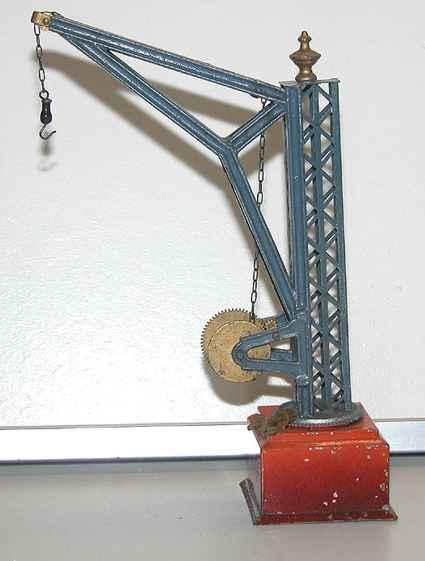 bing 9688 railway toy crane