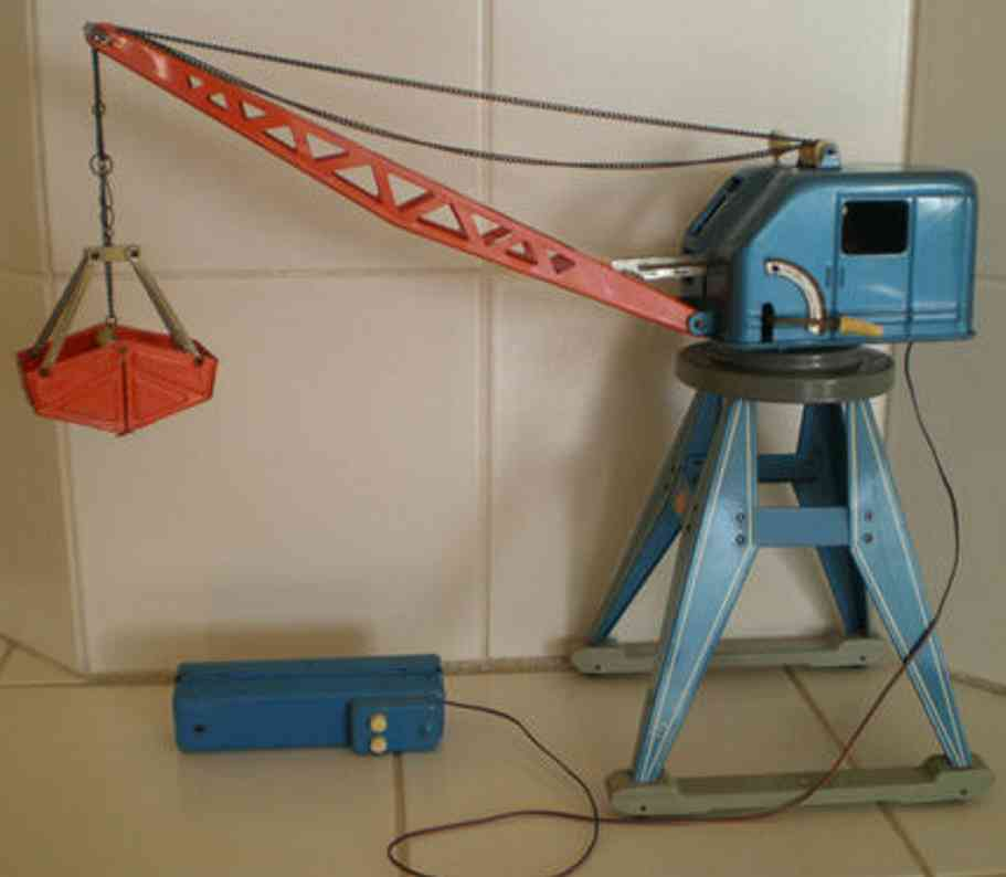 gama 2871 railway toy crane railroad crane with remote control battery-operated, made in
