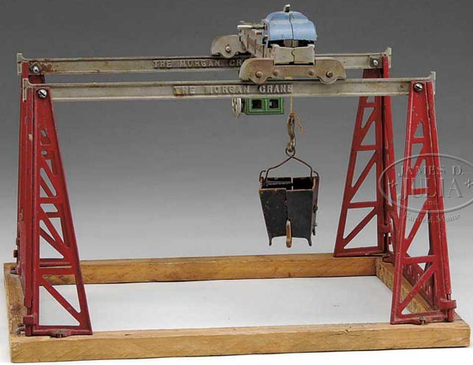 Kenton Hardware Co Cast iron Morgan crane