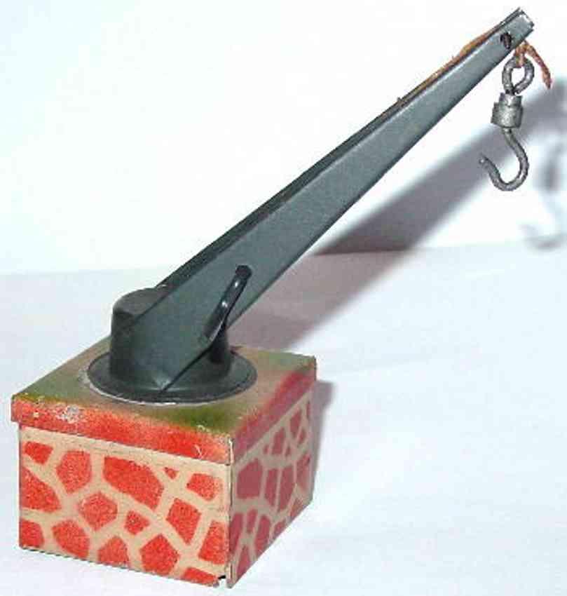 kibri 0/83/2  railway toy swivel crane chain with hook