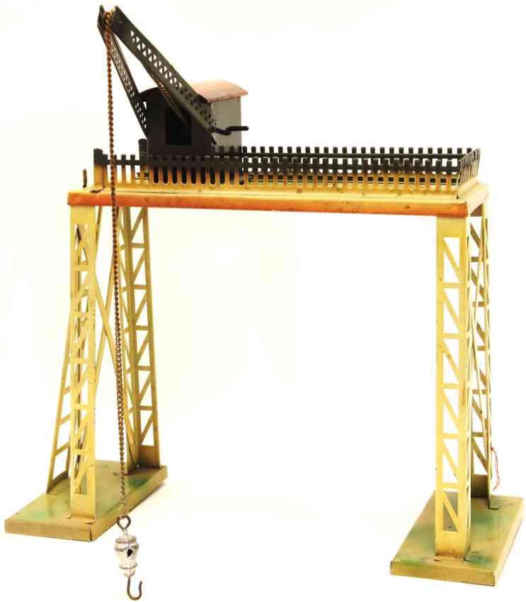 kibri 82/1 railway toy crane bridge overhead crane house