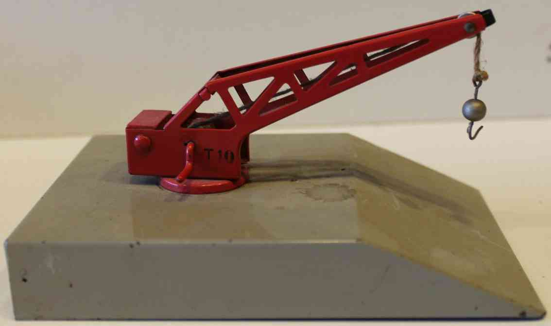 marklin maerklin 429 railway toy crane loading dock