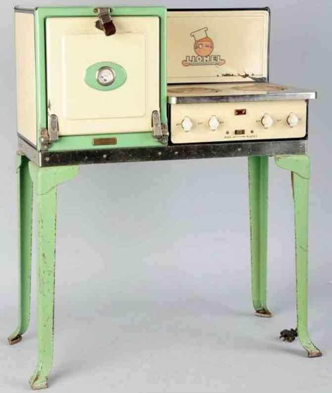 lionel 456 tin toy electric range