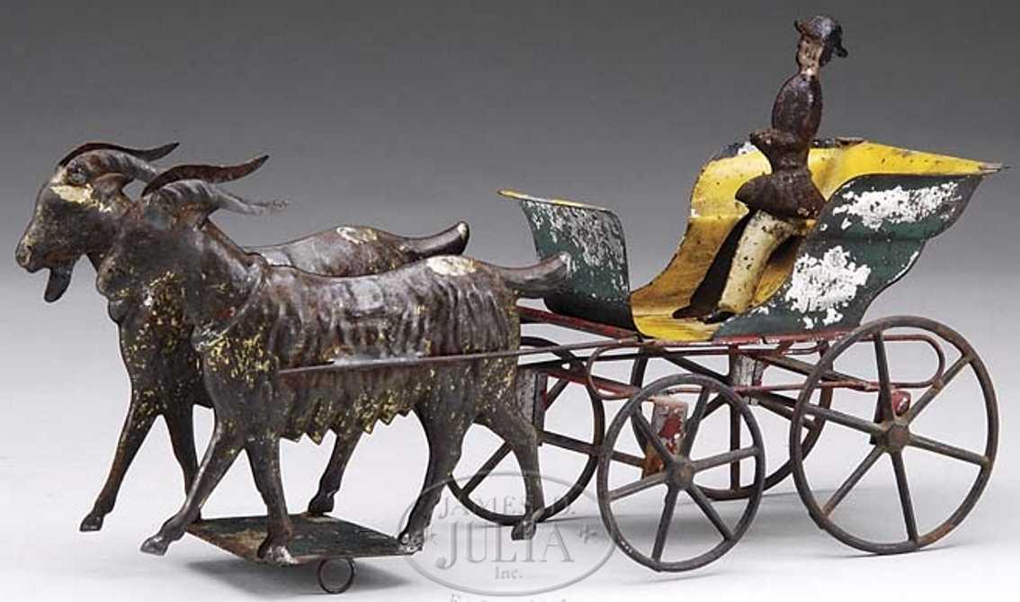 Althof Bergmann Offene Kutsche mit zwei Ziegen