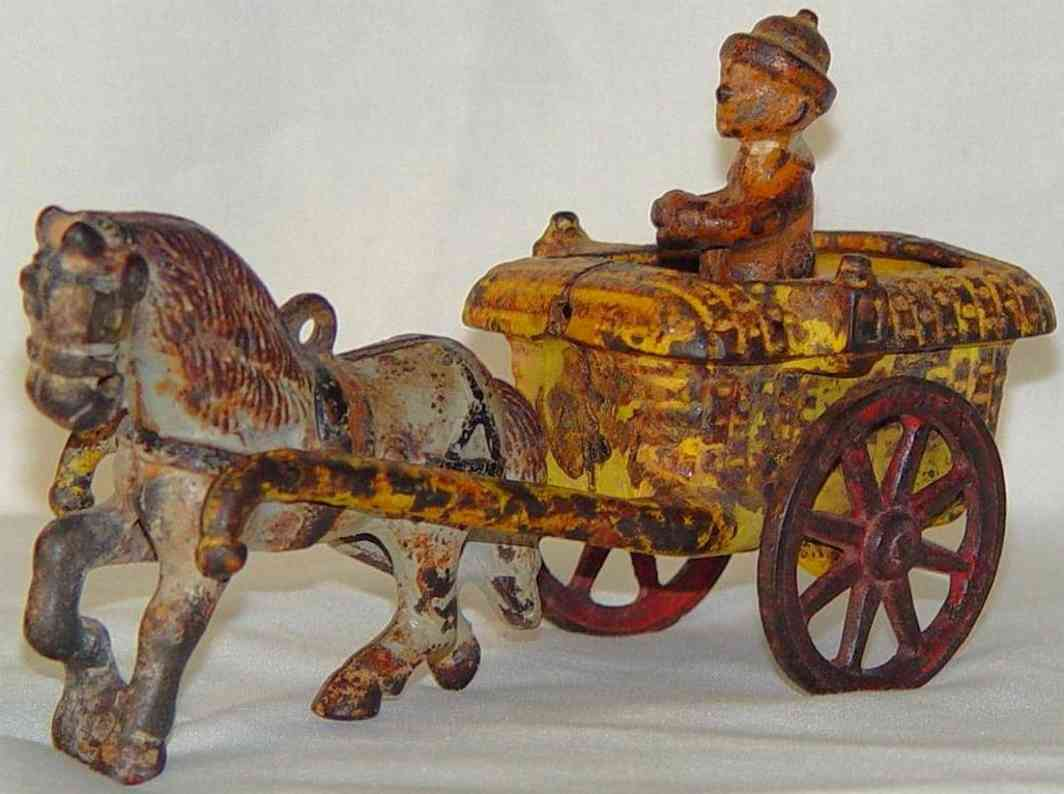 arcade cast iron toy andy gump cart
