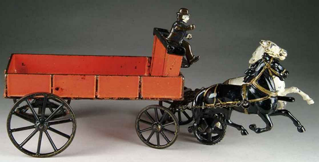 Carpenter Lieferwagen mit Kutscher und Pferd