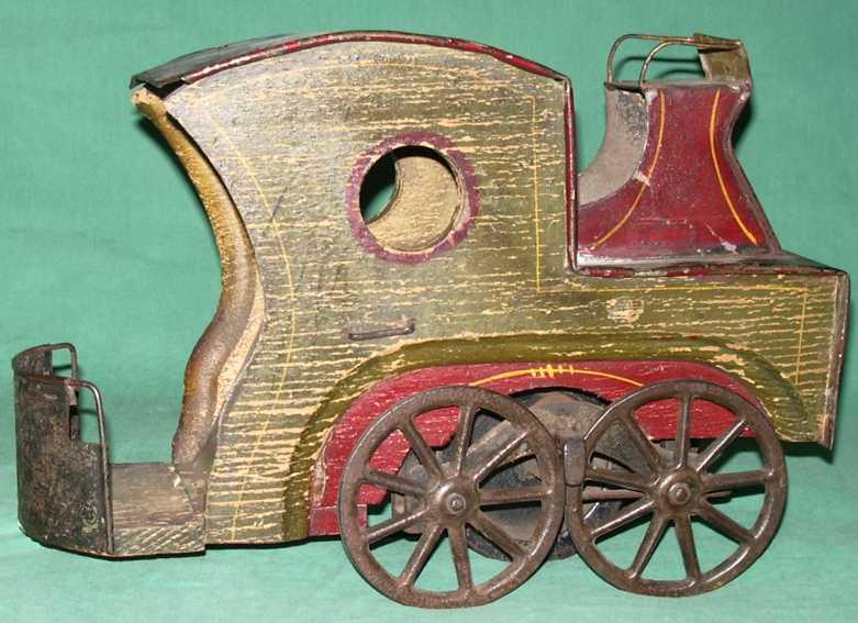 Clark Prototype Kutsche ohne Pferd in grün