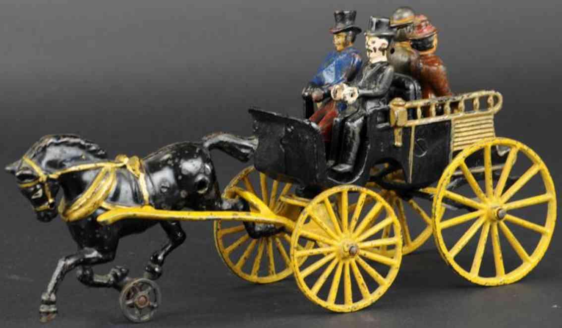 dent hardware co gusseisen oxford pferdewagen vier figuren