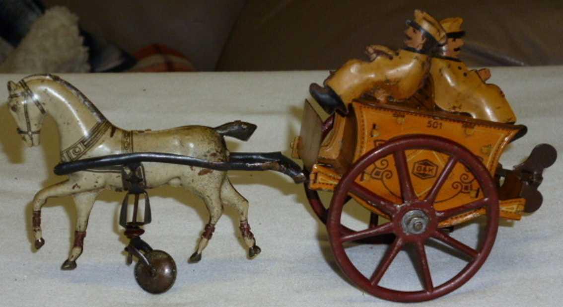 Greppert & Kelch Kutsche mit Pferd