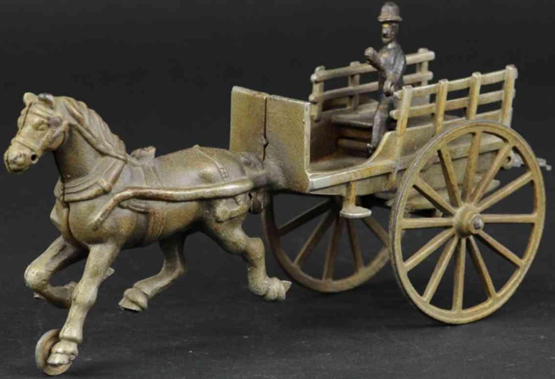 ives gusseisen karre verniceltelamellen ein pferd