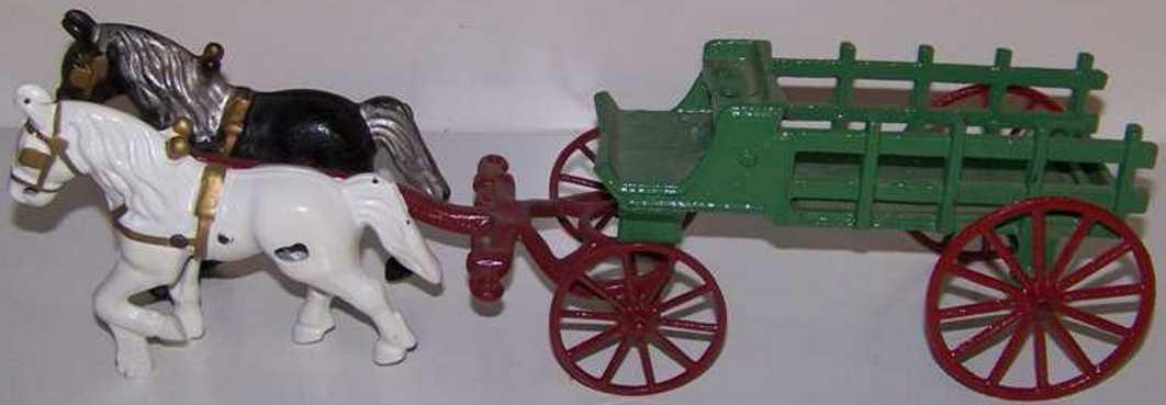 Kenton Hardware Co Brauereiwagen mit zwei Pferden