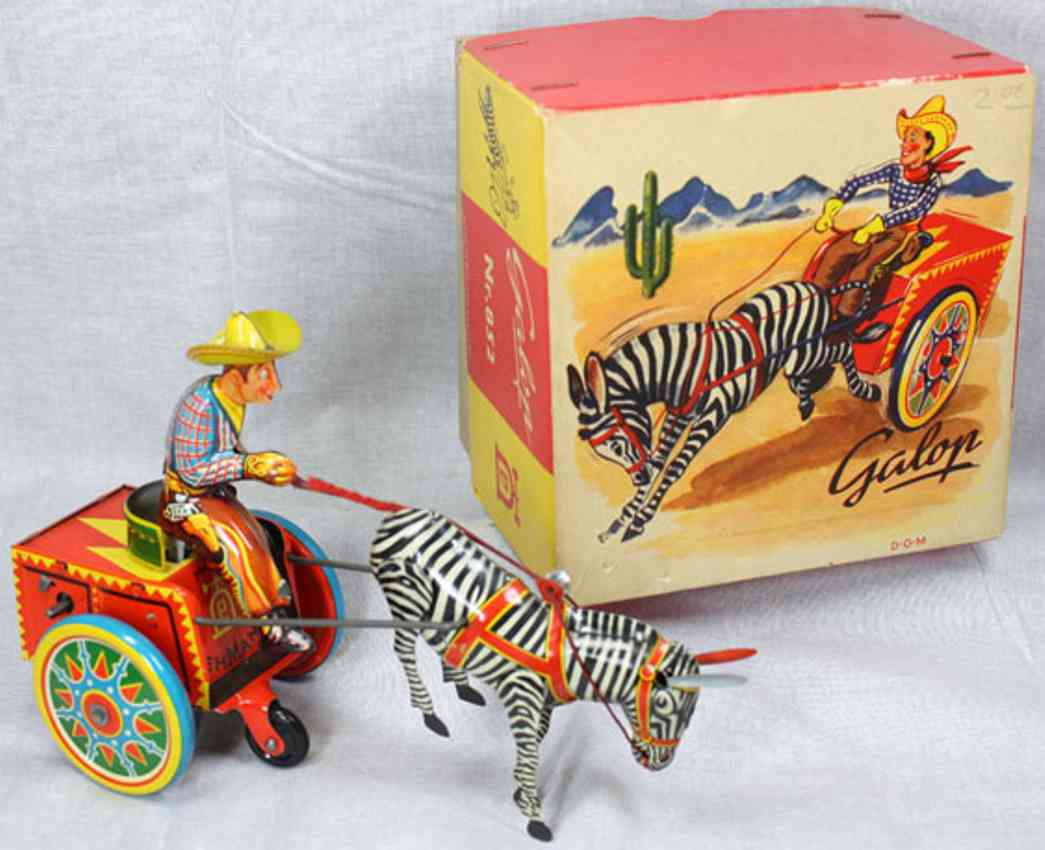 lehmann 852 galop zebra team