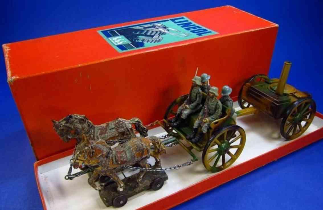 lineol 165 FK/2 militaer spielzeug kutsche feldkueche