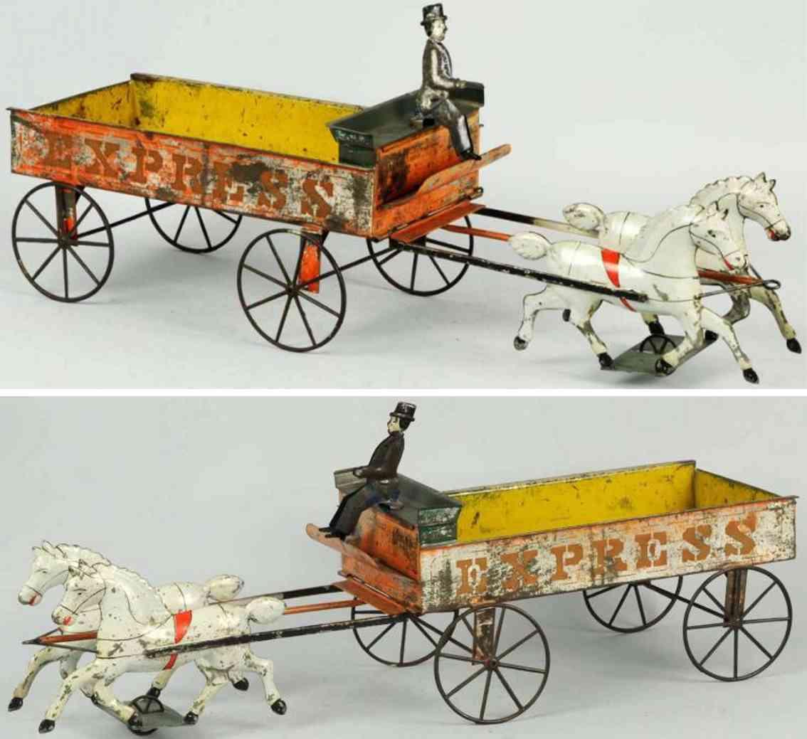merriam tin toy coach express wagon