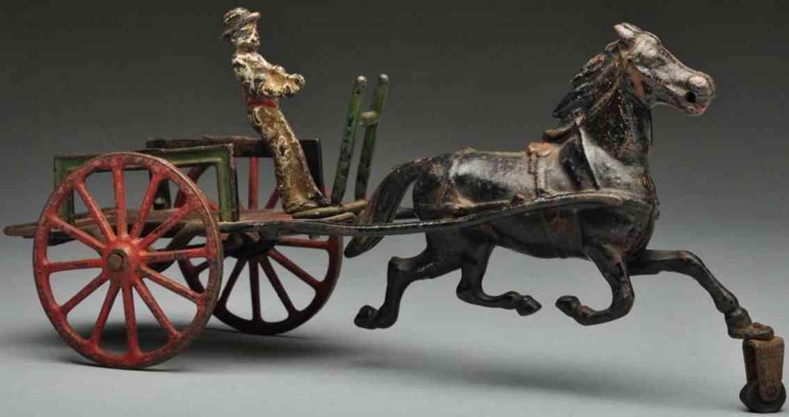 Pratt & Letchworth Straßenkutsche mit Pferd
