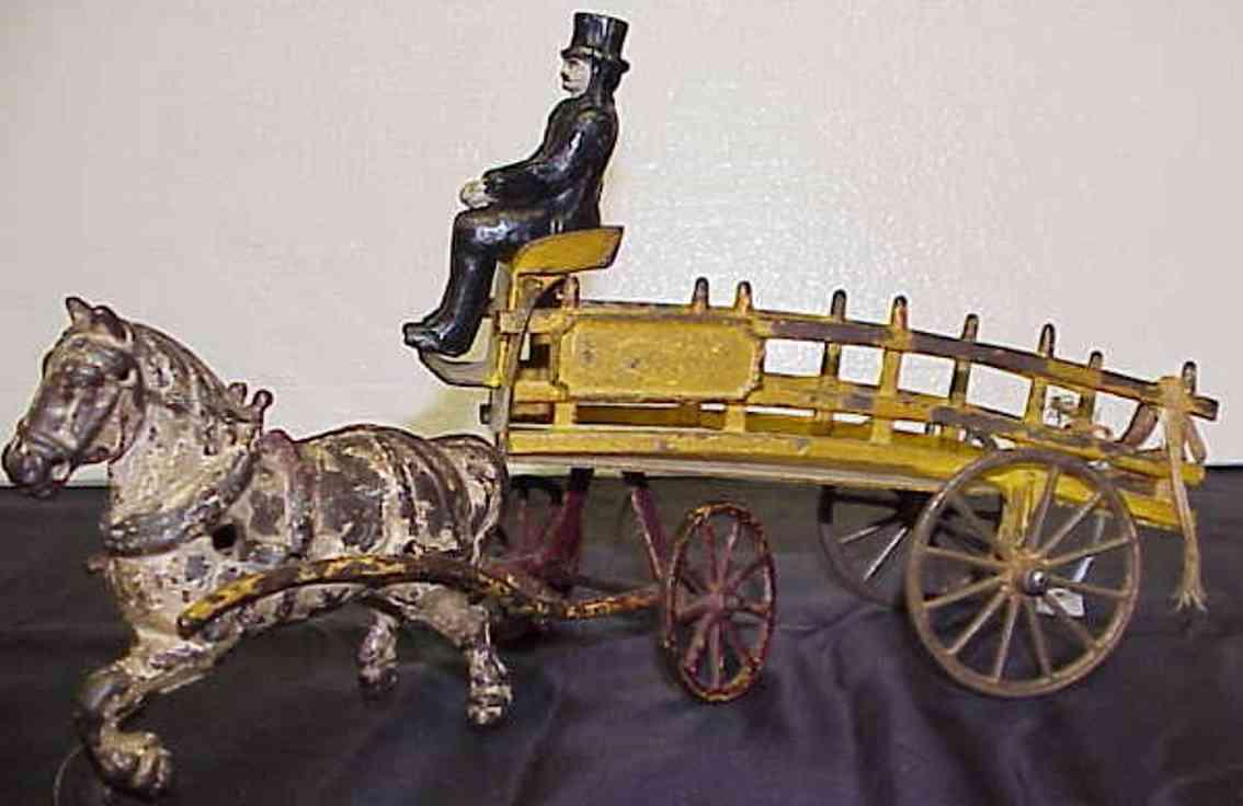 Wilkens Kutsche mit einem Pferd und Kutscher