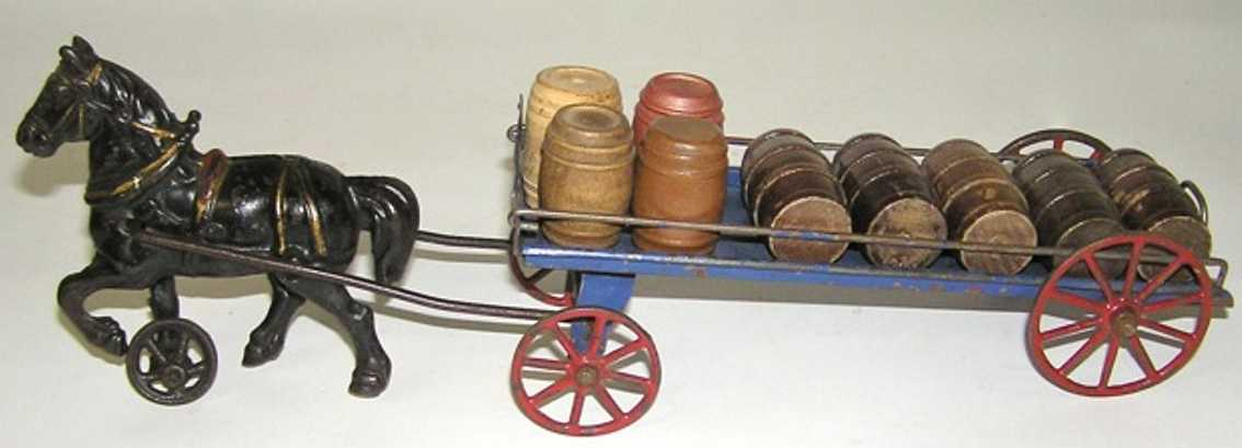 Wilkins Horse drawn barrel truck or cart