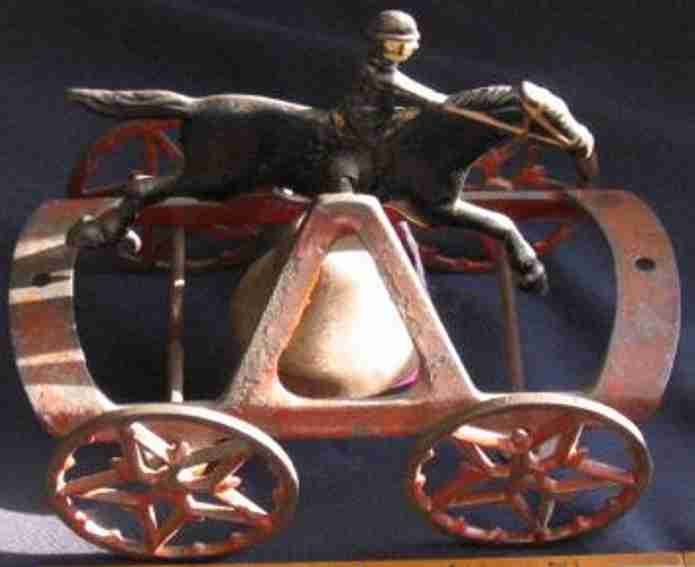 Wilkins Reiter mit Pferd auf Glocke