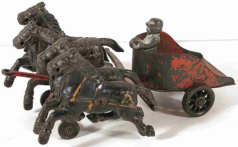 Wilkins Four Horse Chariot with driver