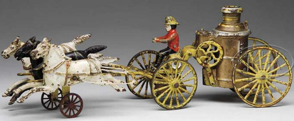 Wilkins Cast iron fire pumper